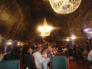 Gala Dinner underground in Komora Jana Haluszki