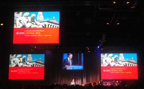 22nd ERS Congress Opening Ceremony on September 1, 2012