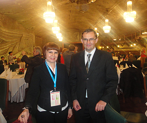 With salt mines's director Mr. Jakub Czerwinski