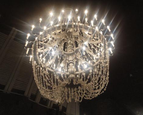 Salt chandelier in Wieliczka