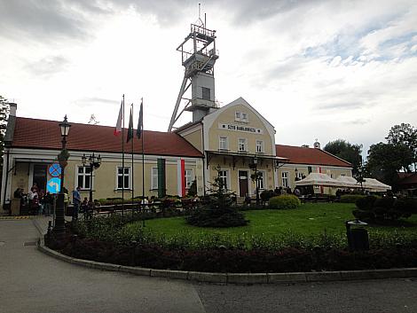 Wieliczka salt mines entrance