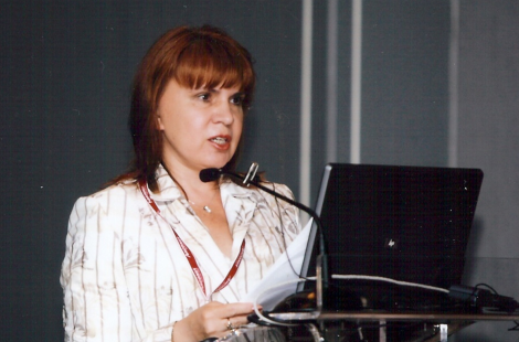 Prof. Chervinskaya's presentation at ISMH Congress in Porto, Portugal, 2008