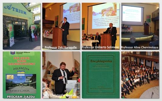 International Session of XXVth Balneological Congress in Polanczyk, Poland