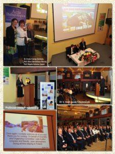 Opening of International Session of XXVth Balneological Congress in Polanczyk, Poland