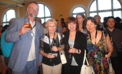 Left to right: Dr. Jacek Chojnowski, Prof. Irena Ponikowska, Prof. Alina Chervinskaya, Sussanna Czeranko, N.D.