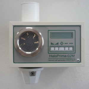 Medical Class IIa halogenerator HaloPrima-02M (Halomed UAB, Lithuania)